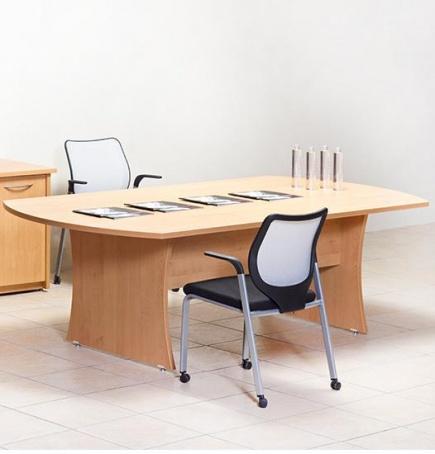 Mesa de Juntas Escarlata